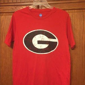 Georgia Bulldogs Tee | Red | Size Medium